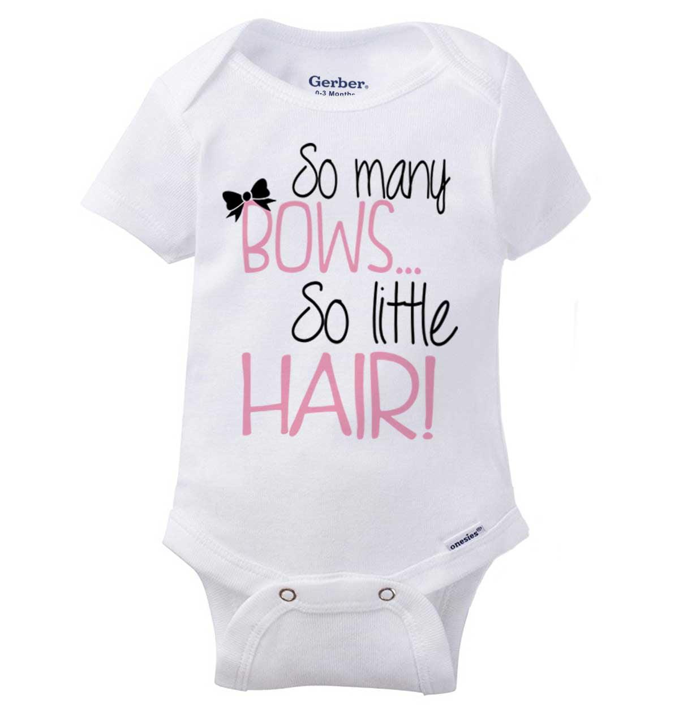 Funny Newborn Baby Shirt Bald and Beautiful Custom Baby Bodysuit  Romper