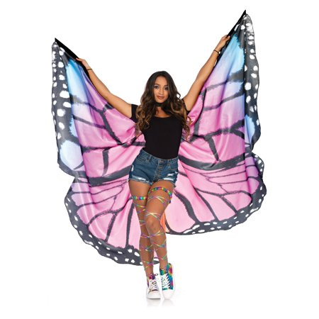 Festival butterfly wing halter cape (Halloween Festival Paisley)