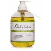 Olivella Virgin Olive Oil Face and Body Liquid Soap  16.9 oz (Pack of 2)