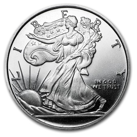 1 2 Oz Silver Round Apmex Walking Liberty Half Dollar