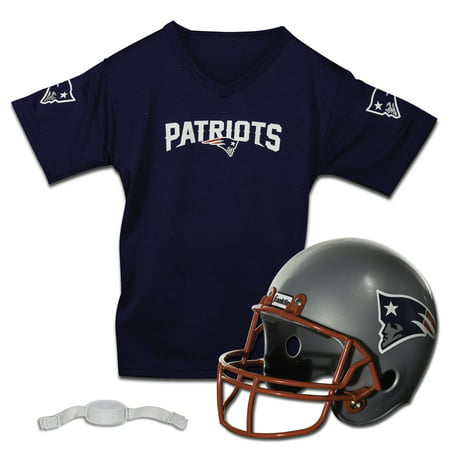 Franklin Sports NFL New England Patriots Team Licensed Helmet Jersey Set