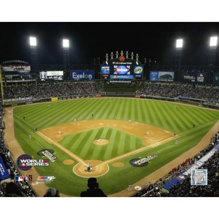 US Cellular Field 2005 World Series Game 1 1st Pitch Photo Print