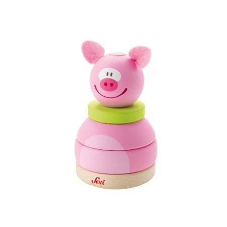 Sevi Stacking Tower Toy, Pig - image 1 of 1