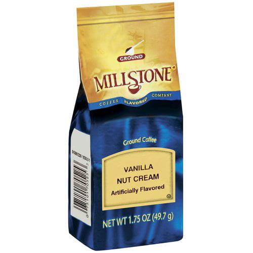 Millstone Vanilla Nut Cream Ground Coffee, 1.75 oz