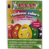 Way To Celebrate Paas Rainbow Easter Egg Dye Kit