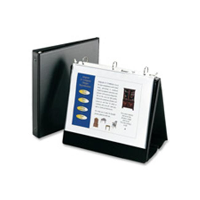 Consumer Products  Easelbinder- 1in. Capacity- 8-.50in.x11in. Sheet Size- Black