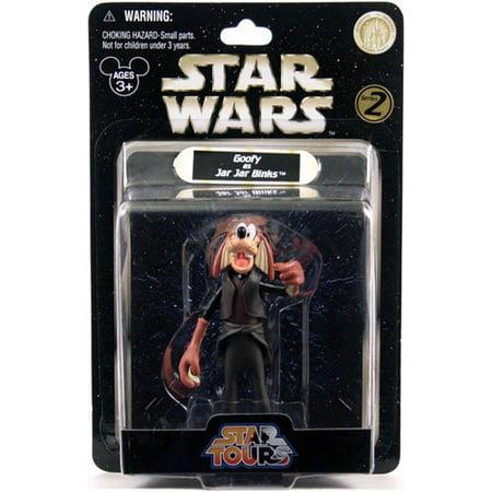 Goofy as Jar Jar Binks Series 2 Disney Star Wars, Authentic Disney Parks Original By Star Tours Ship from US](Jar Jar Binks Mask)