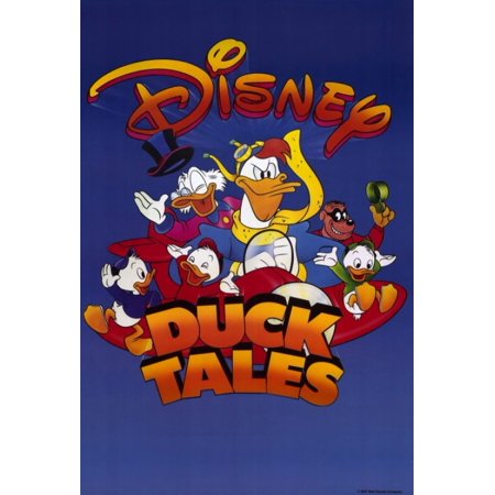 DuckTales the Movie Treasure of the Lost Lamp Movie Poster Print (27 x 40)