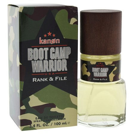 Boot Camp Warrior Rank   File By Kanon For Men   3 4 Oz Edt Spray