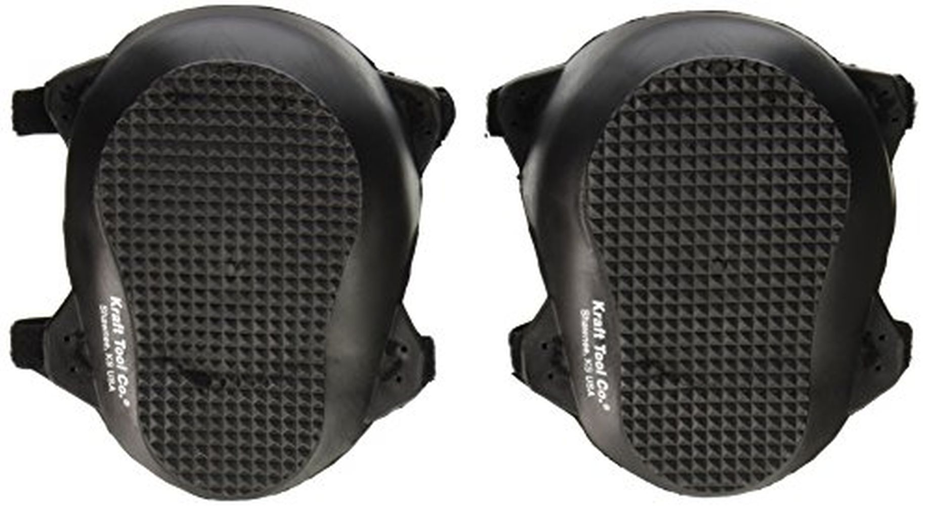 Kraft WL070 Rubber Knee Pads Made in the USA by Kraft Tool