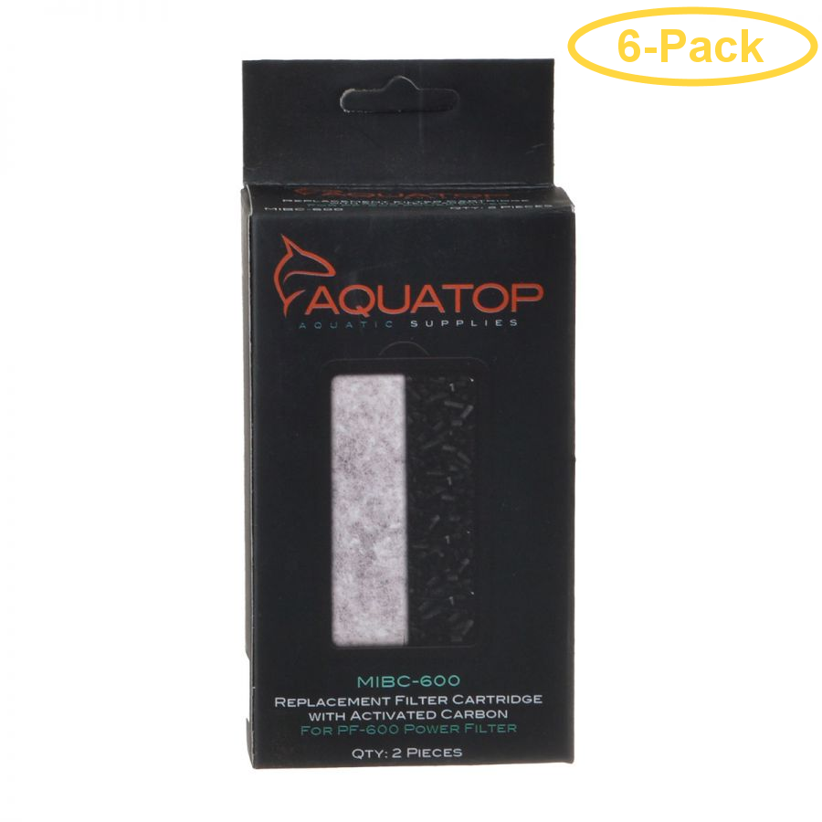 Aquatop Mibc600 Carbon Insert Replacement Filter For Pf600 Various Styles Pet Supplies