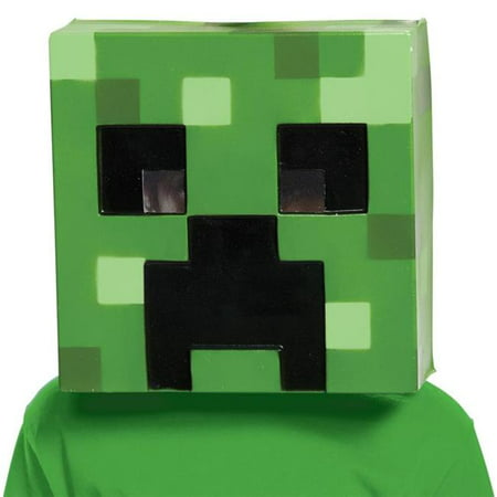 Minecraft Creepr Vacuform Mask - Event Halloween Minecraft