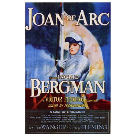 Joan of Arc POSTER Movie Mini Promo - Arc Promo Code