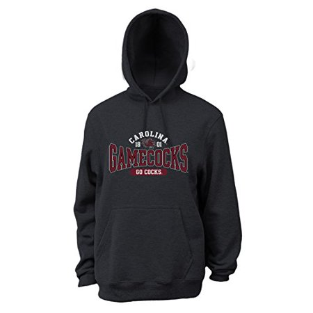 NCAA South Carolina Fighting Gamecocks Men's Pro Weight Basic College Logo Fleece Hoodie, XX-Large ()