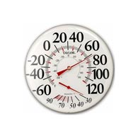 """Taylor 497 12"""" Humidiguide Dial Thermometer"""