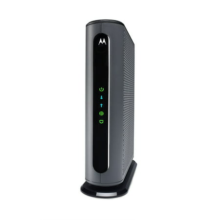 MOTOROLA MB7621 (24x8) Cable Modem, DOCSIS 3.0 | Certified for XFINITY by Comcast | 1000 Mbps Max