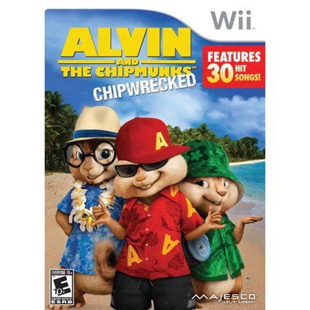 Alvin & The Chipmunks Chip-Wrecked (Wii) - Alvin And The Chipmunks Birthday Party Supplies