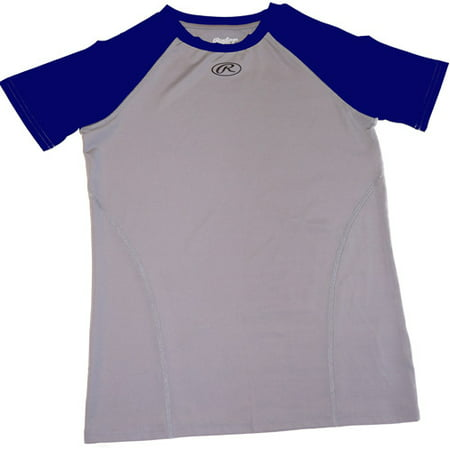 Rawlings Ycpt Youth Baseball Compression Tee Assorted Size