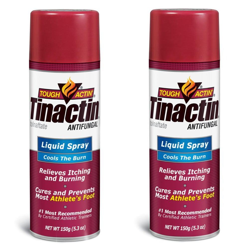 Tinactin Athlete's Foot Liquid Spray Antifungal - 5.3 oz (Pack of 2)
