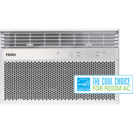 Haier 8,000 BTU Energy Star Window AC with Remote,