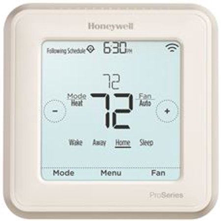 Honeywell Lyric T6 Thermostat, 2 Heat / 1 Cool Heat Pump Or 2 Heat