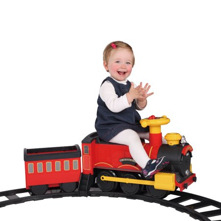 Rollplay Steam Train 6 Volt Battery Ride-On Toy