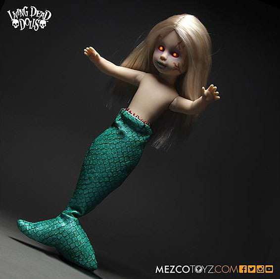 Living Dead Dolls Series 30 Freakshow The FeeJee Mermaid 10.5 Doll