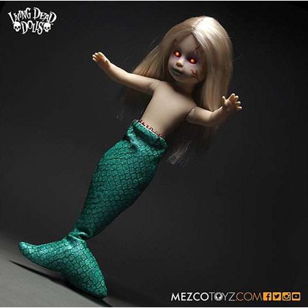 Living Dead Dolls Series 30 Freakshow The FeeJee Mermaid 10.5 Doll - Living Dead Dolls Halloween Series