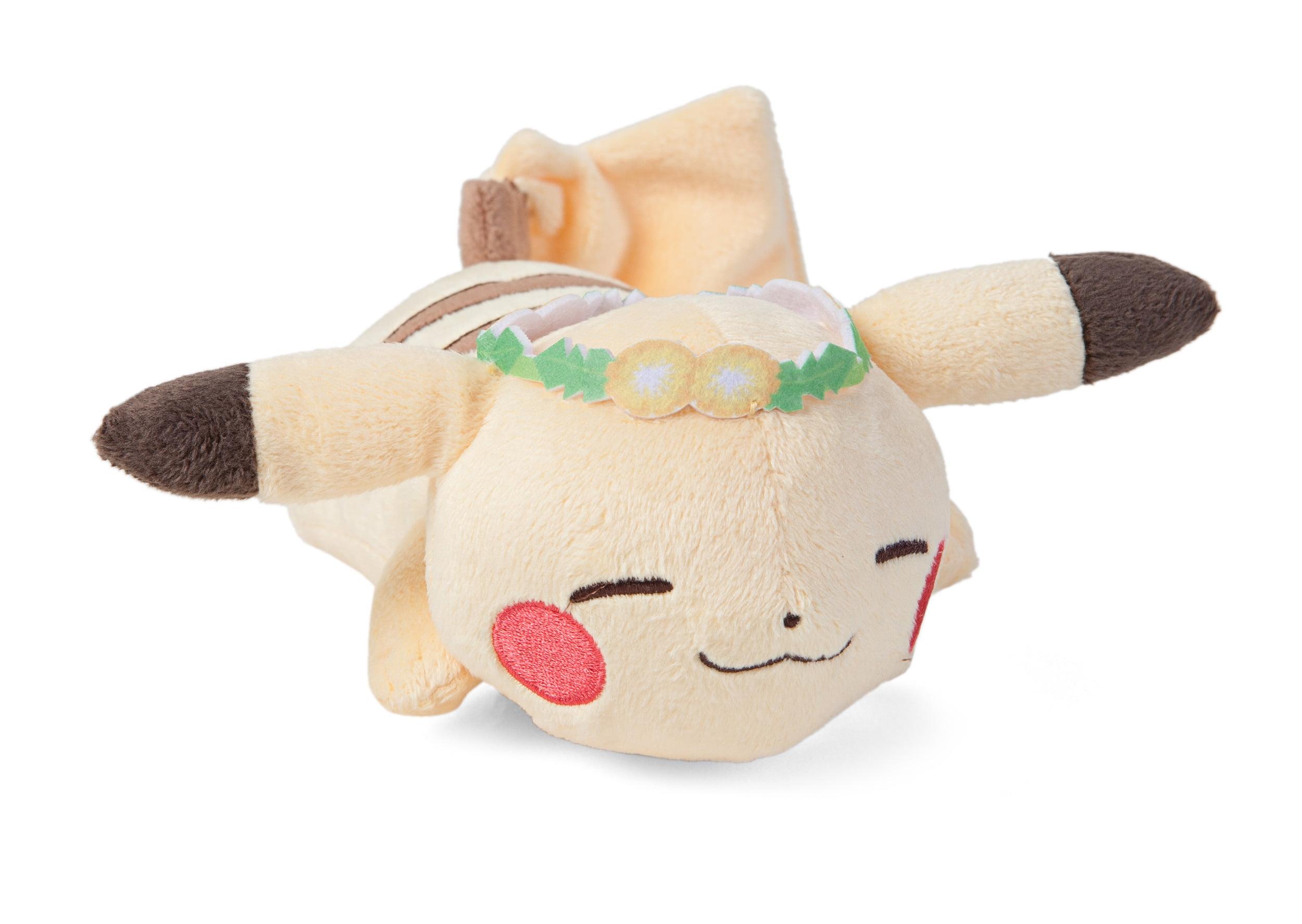 Pokemon Life Picnic Pikachu Sleeping with Crown 15 cm Plush Toy