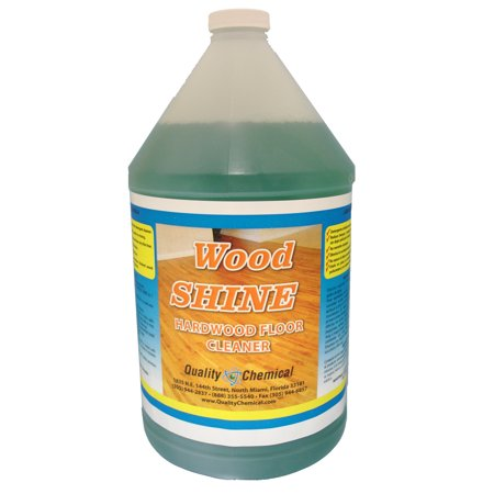 Wood Shine - neutral floor cleaner concentrate - 1 gallon (128