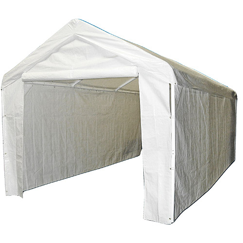 Review Caravan Canopy Sports 10'x20' Domain Carport Garage Sidewall/Enclosure Kit (Frame and Top Not Included) Review