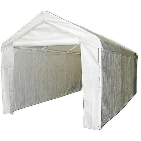 caravan canopy sports 10 39 x20 39 domain carport garage. Black Bedroom Furniture Sets. Home Design Ideas