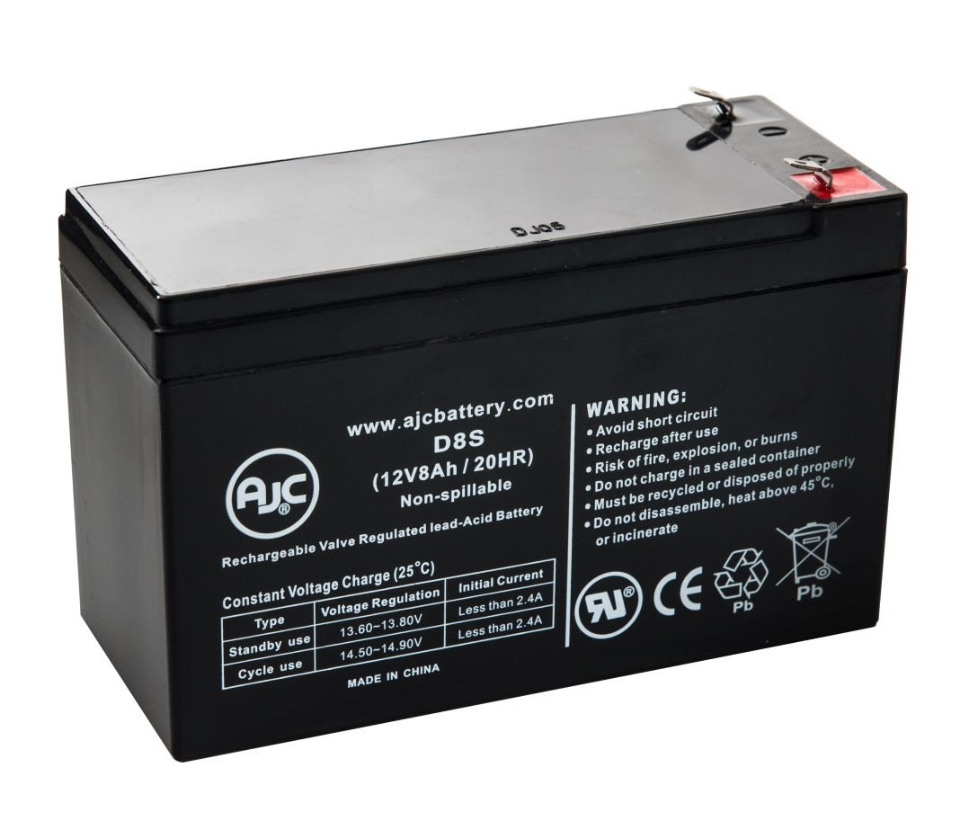 Opti-UPS Reliable Series RS1200 12V 8Ah UPS Battery This is an AJC Brand Replacement by AJC Battery