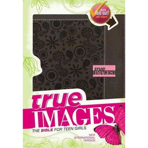 True Images: The Bible for Teen Girls: New International Version, Chocolate Italian Duo-Tone