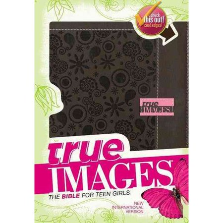 True Images  The Bible For Teen Girls  New International Version  Chocolate Italian Duo Tone