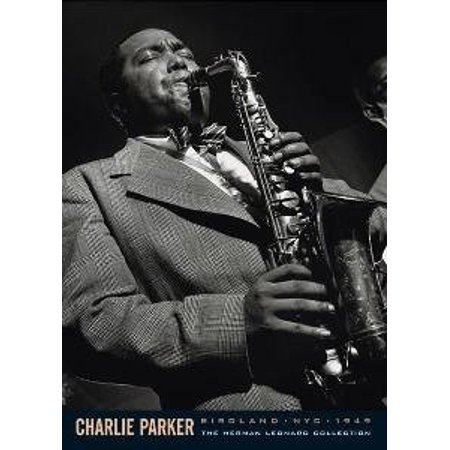 Charlie Parker Poster Jazz Saxophone New 24x36