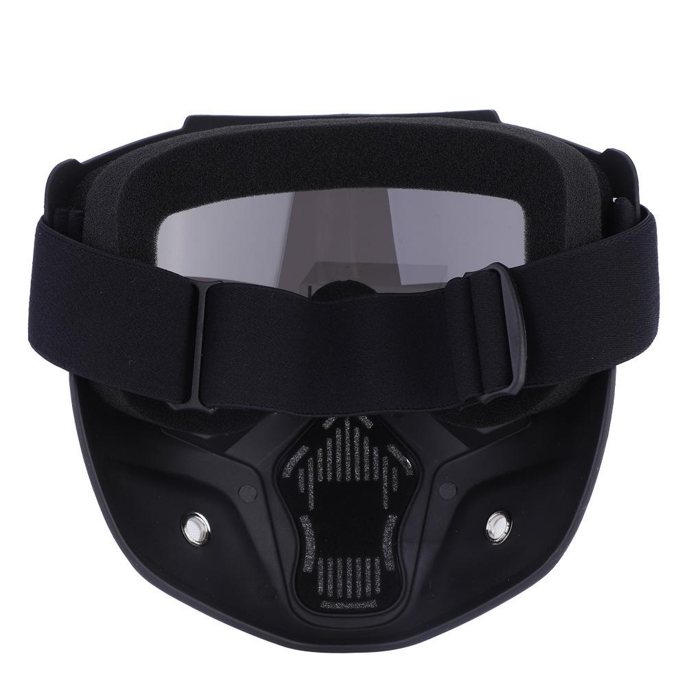 Ashata 5 Colors Sports Ski Snowboard Cycling Face Mask with Detachable Eye Glasses, Ski Mask, Ski Face Mask