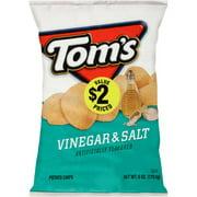 Tom's Vinegar & Salt Potato Chips, 6 Oz.