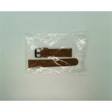 Strap Studio Samsung GearSport 20MM Brown Leather Band (20mm Brown Leather Bands)