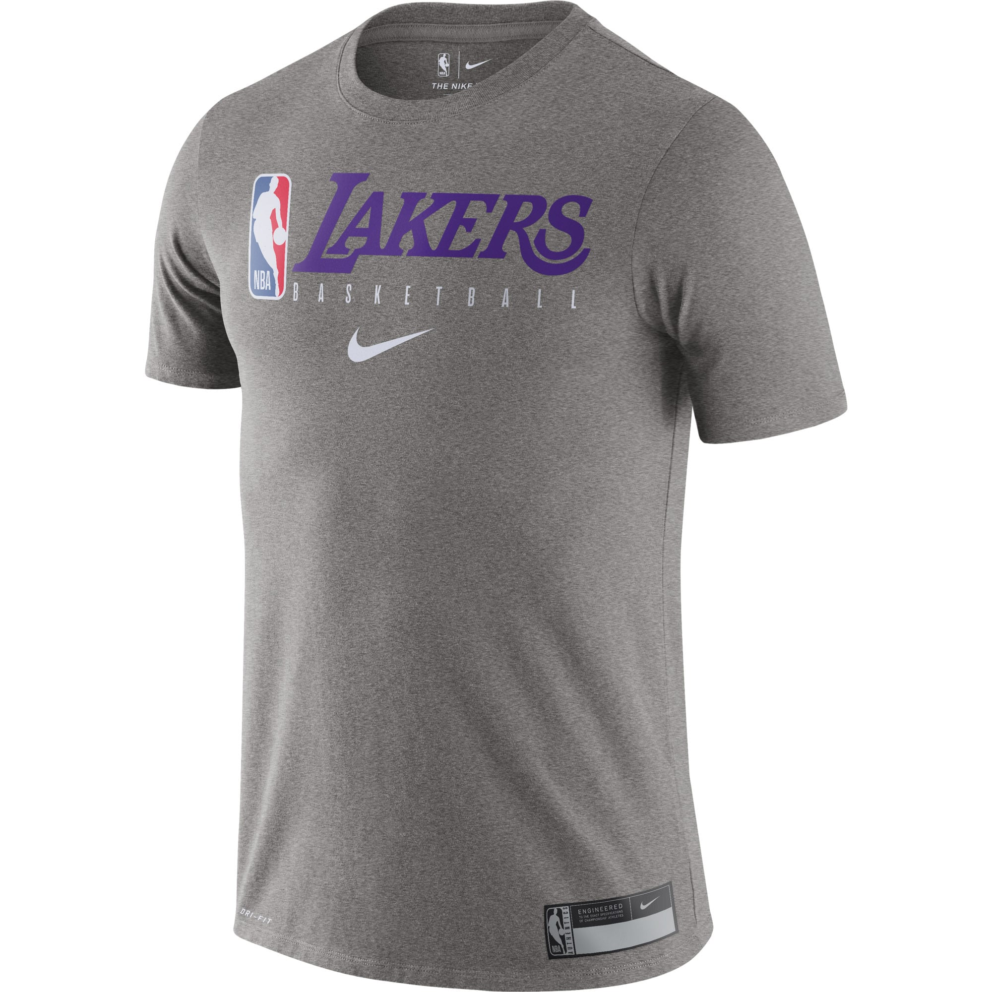 Los Angeles Lakers Nike Essential Practice Performance T-Shirt ...
