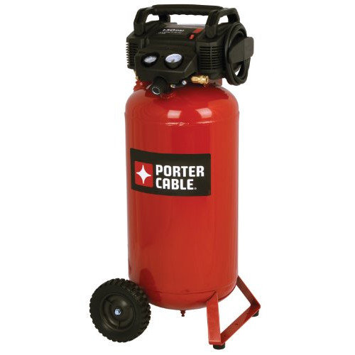 Porter Cable 150 PSI 17 Gallon Oil-Free Vertical Portable Air Compressor