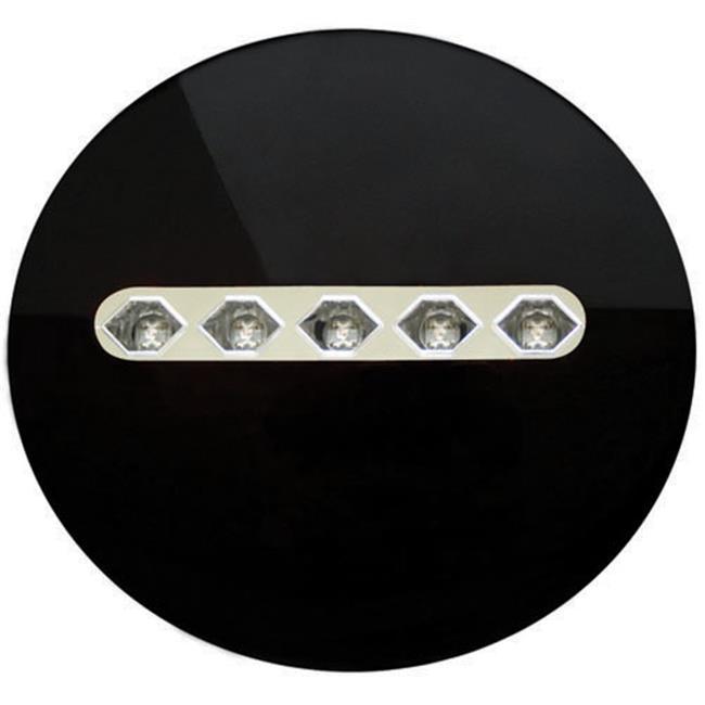 Pair 03-00-LEDT-3039C IPCW LEDT-3039C Crystal Clear LED Tail Lamp