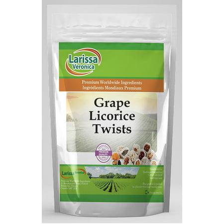 Grape Licorice Twists (4 oz, ZIN: 525116) - 2-Pack](Grape Licorice)
