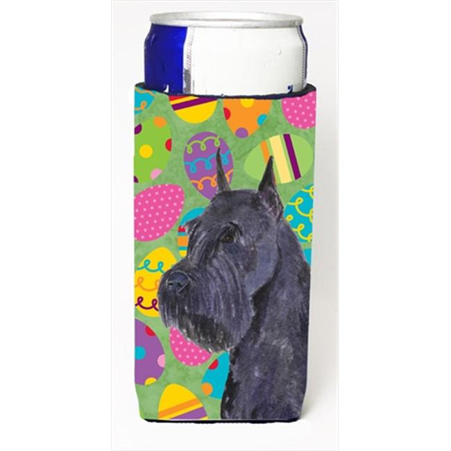 Schnauzer Easter Eggtravaganza Michelob Ultra bottle sleeves For Slim Cans - 12 Oz. - image 1 of 1