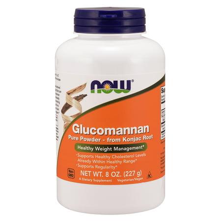 NOW Supplements, Glucomannan (Amorphophallus konjac)Pure Powder, 8-Ounce