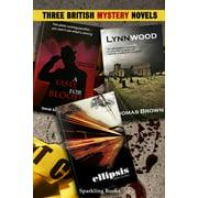 Three British Mystery Novels - eBook
