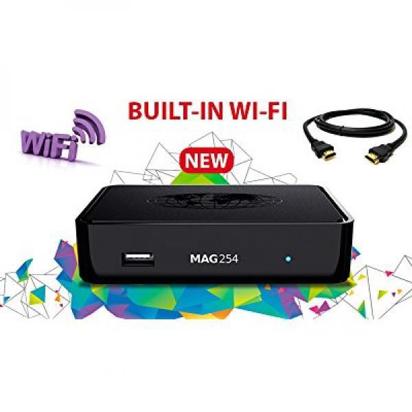 MAG 254 MAG254W1 IPTV Full HD 3D Media Streamer STB - Bui...