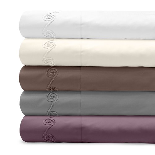 Veratex, Inc. Supreme Sateen 800 Thread Count Cotton Pillowcase (Set of 2)