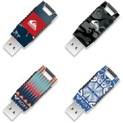 8GB EP Capless USB, Quiksilver and Roxy, 4-Pack
