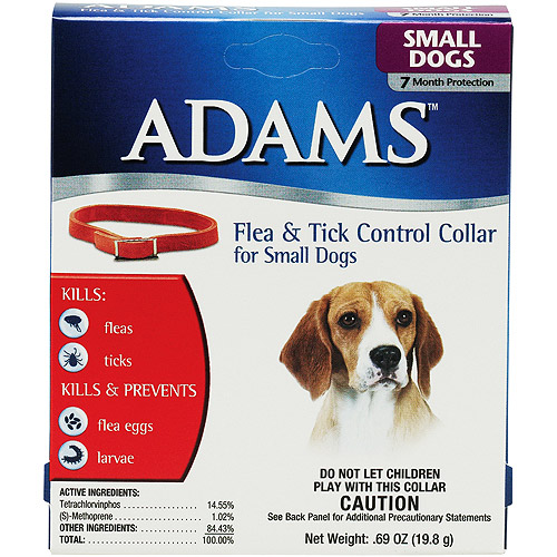 Adams Flea & Tick Collar for Small Dogs
